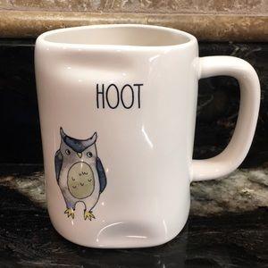 New Rae Dunn HOOT Owl Coffee Mug